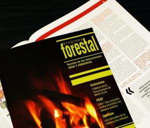 Progreso Forestal, revista de las asociaciones AESA y Asmadera