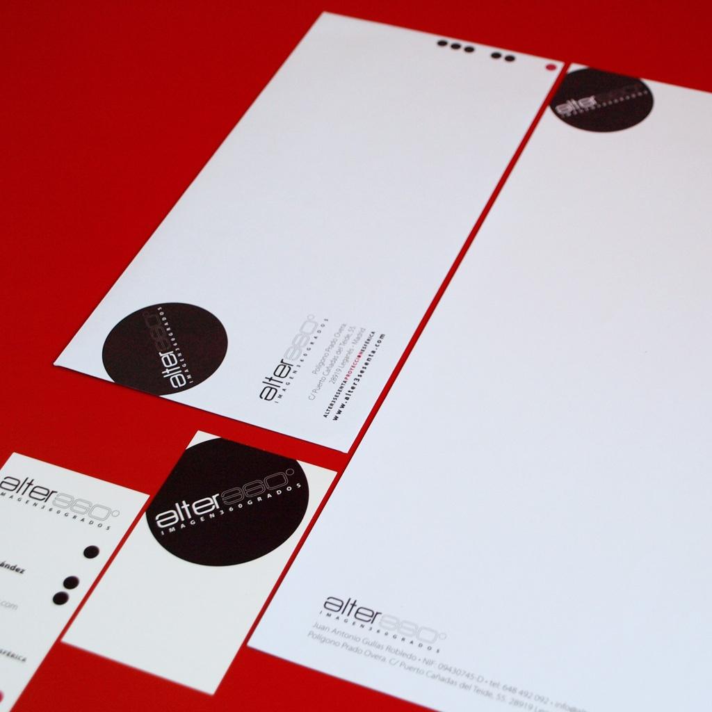 Branding e identidad corporativa de Alter360
