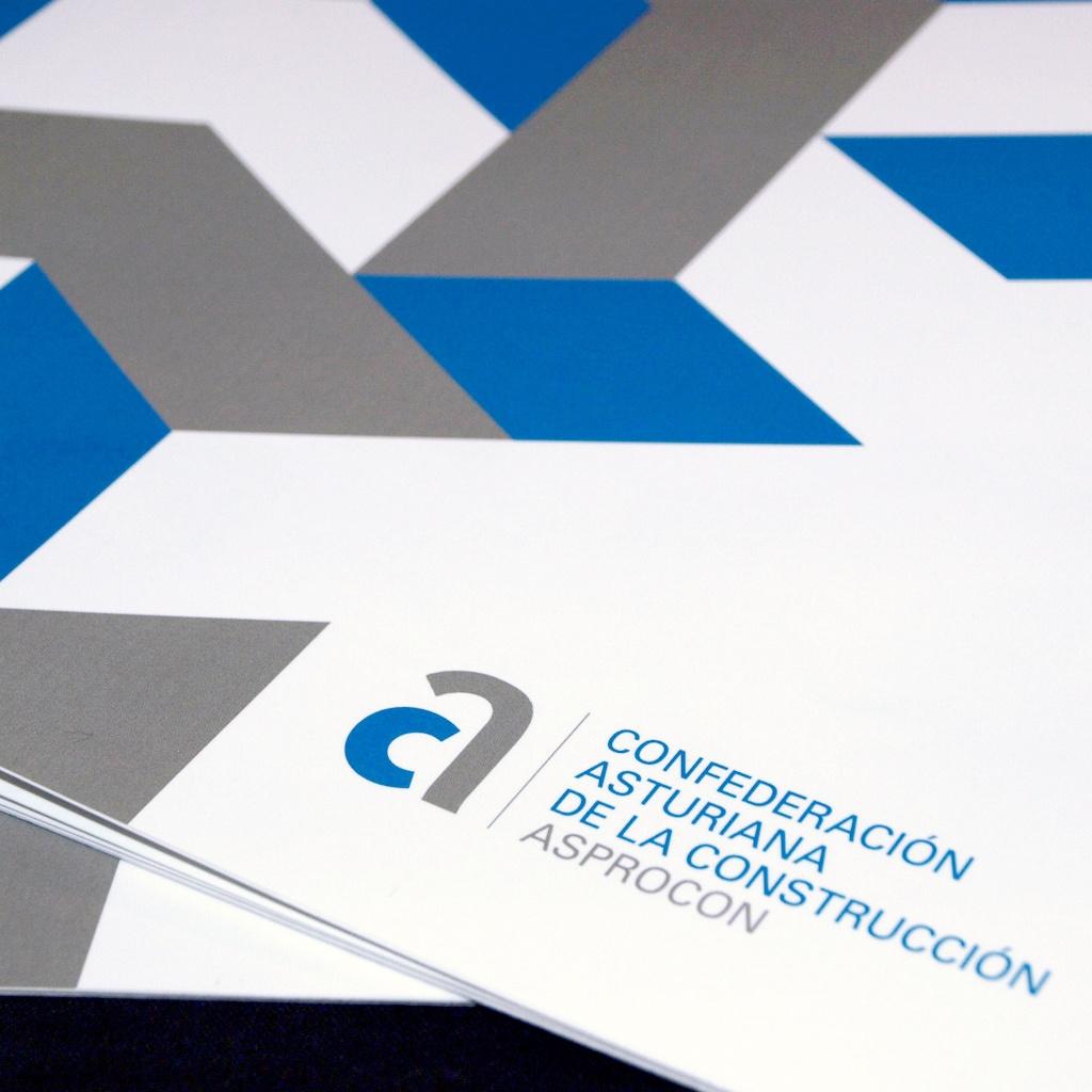 Diseño y maquetación del folleto corporativo de CAC-ASPROCON