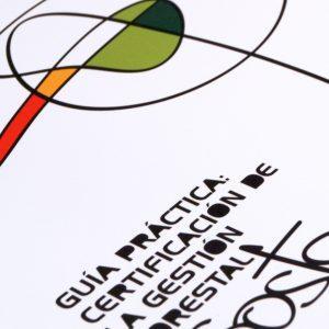Diseño y maquetación de la guía práctica de certificación de la gestión forestal sostenible