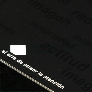 Diseño y maquetación de folleto y desplegable de rótulos Fomento
