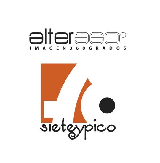 Logotipo alter360 y sieteypico