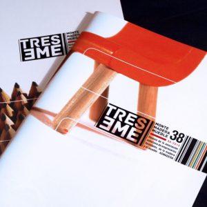 Diseño y maquetación de la revista Treseme, editada por Asmadera