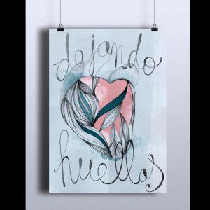 Ilustración realizada con grafito y retoque digital