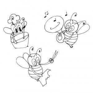 bocetos para diseño de ilustracion digital