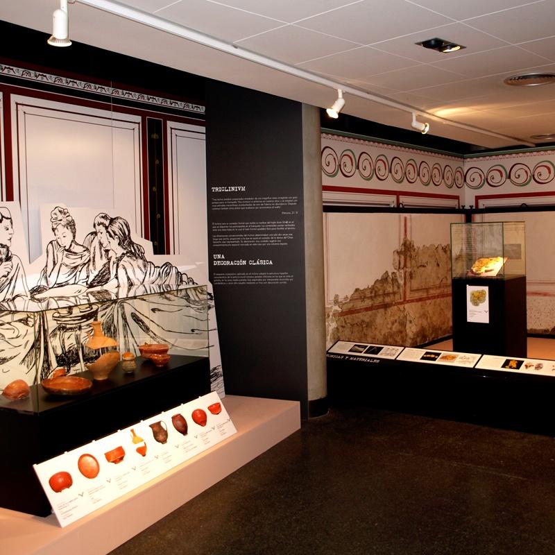 Dirección de arte y diseño de la exposición Domus, una casa romana en el Chao Samartín