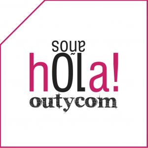 Logotipo para la creatividad para el décimo aniversario de Outycom