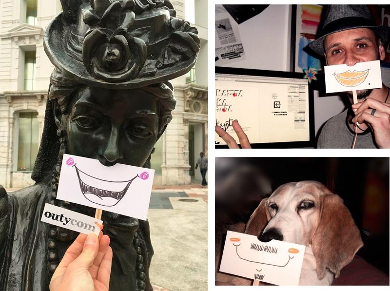 Creatividad para el décimo aniversario de Outycom