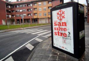 Diseño cartel San Silvestre