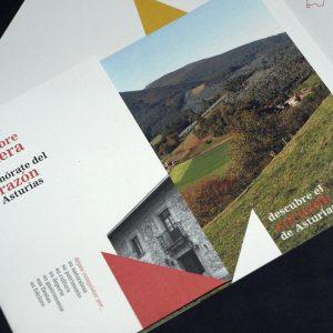 Diseño y maquetación de folleto para FITUR