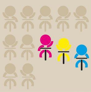 Diseño y maquetación del cartel para el día de la bici de Llanera. Asturias