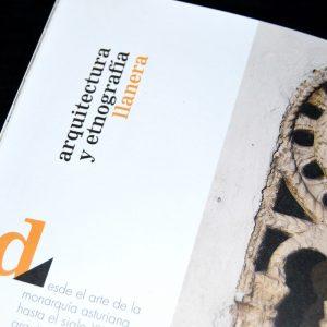 Diseño y maquetación de guía de turismo de Llanera