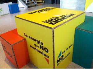 Dirección de arte y diseño de exposición de energía renovables
