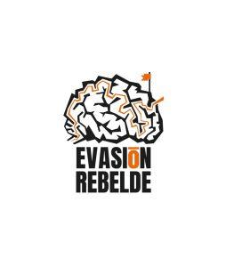 Diseño de logotipo para Evasión Rebelde, escape room de Oviedo
