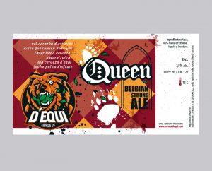 Diseño de etiqueta para cerveza artesanal