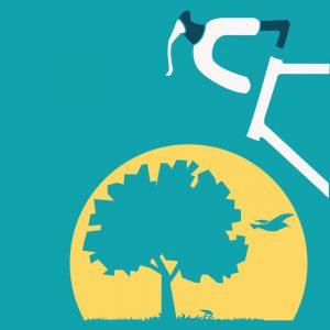 Diseño de la gráfica para campaña de difusión día de la bici