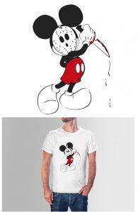Ilustración digital para camisetas