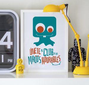 Ilustración y diseño de personajes para producto personalizado