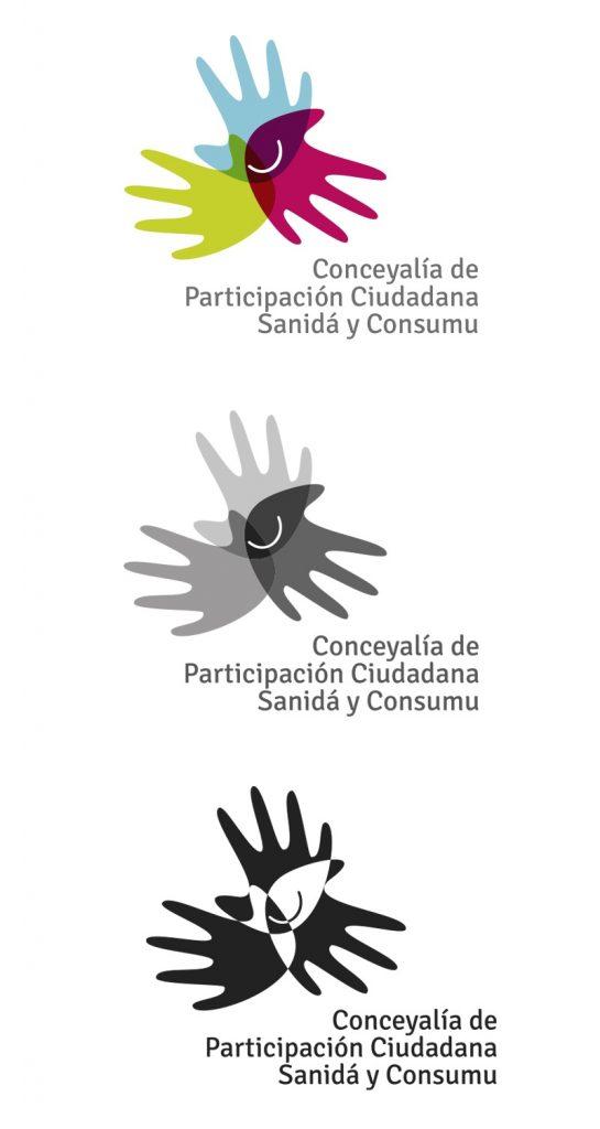 Diseño de logotipo para el Ayuntamiento de Llanera. Aplicaciones