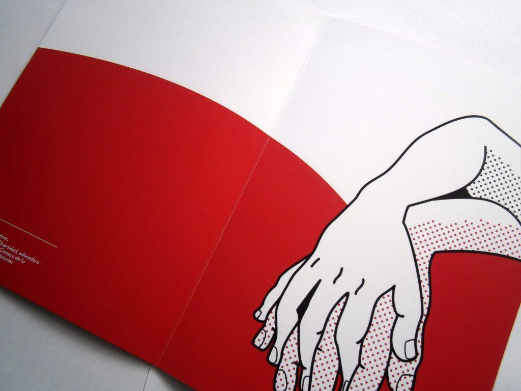 Diseño e ilustración de cartel, invitación y carpeta
