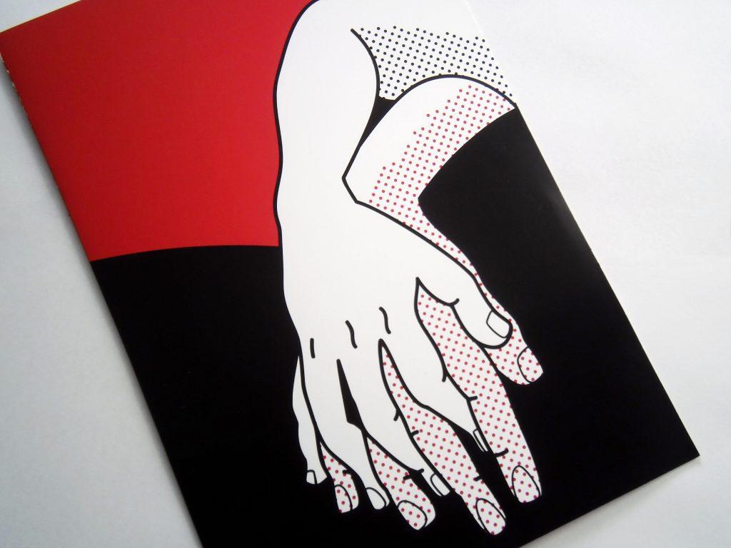 Diseño e ilustración de cartel, invitación y carpeta para seminario de educación sexual