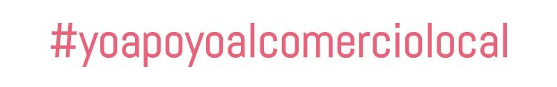 diseño de logotipo apoyo al comercio local
