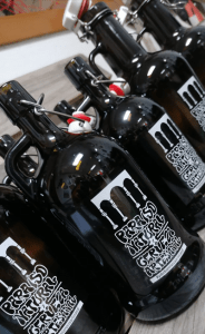 Logotipo cerveza artesanal asturias