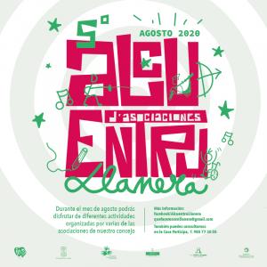 diseño de cartel para el alcuentru de asociaciones de Llanera 2020